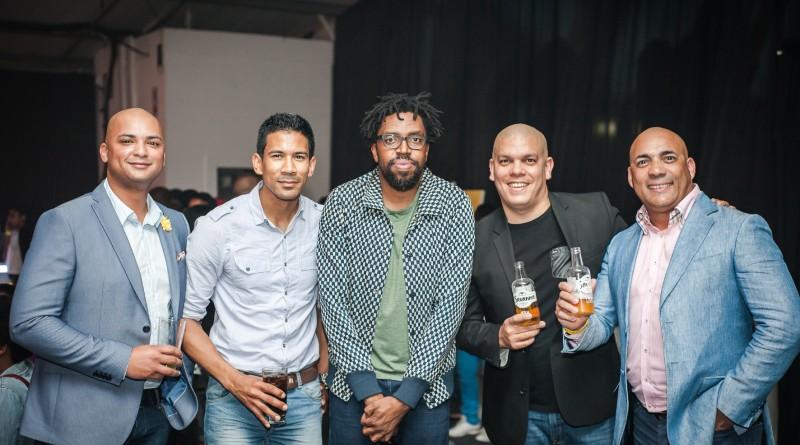 Lando Appies, DJ Garth B, Kagiso Lediga, Marcel Swain, Colin Francke