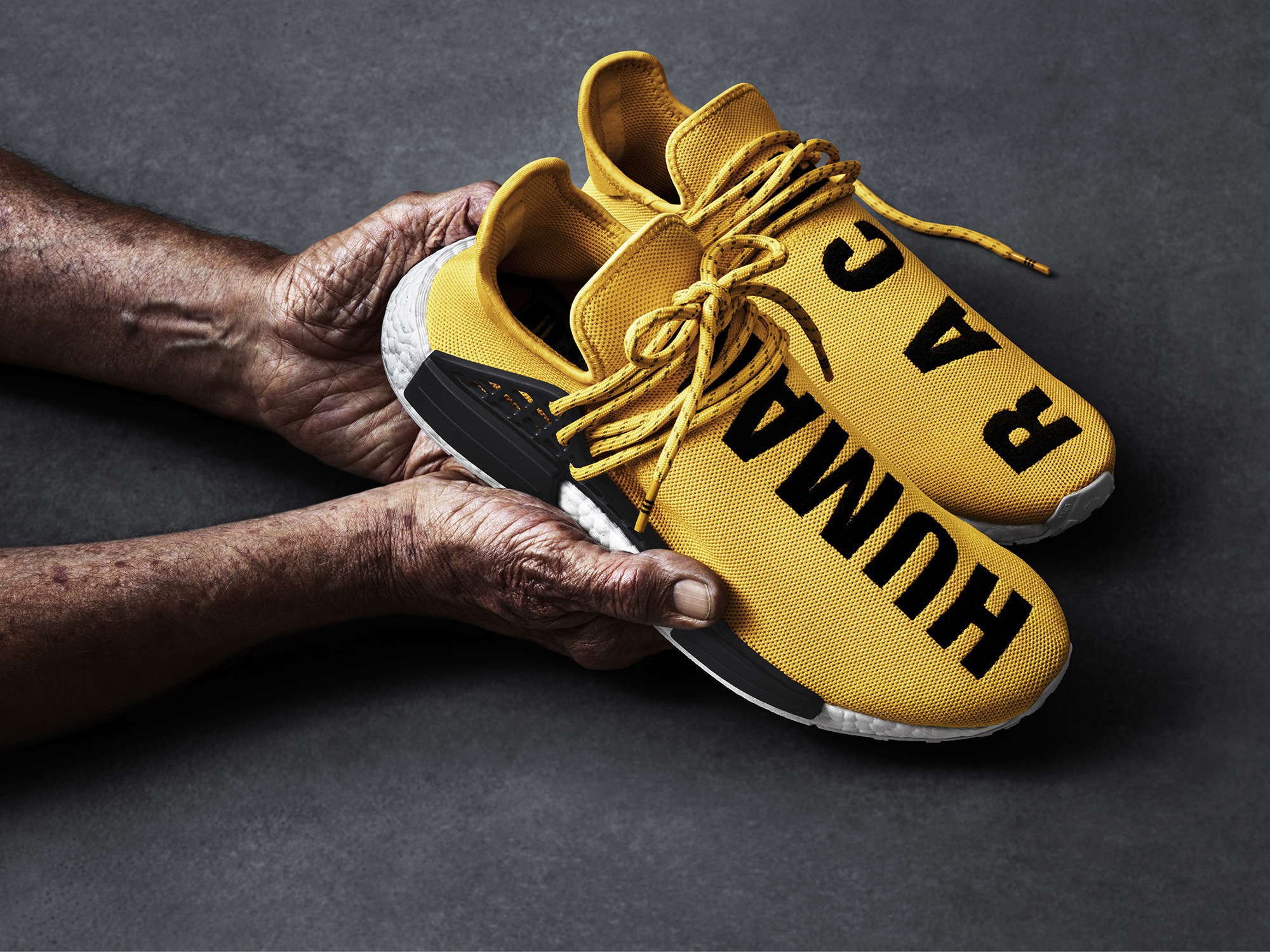 Pharrell Williams and adidas introduce the Hu NMD