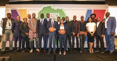 during the NBA Africa Luncheon at the Indigo Hotel during NBA All Star Los Angeles in Los Angeles, USA on February 17, 2018© Barry Aldworth/eXpect LIFE