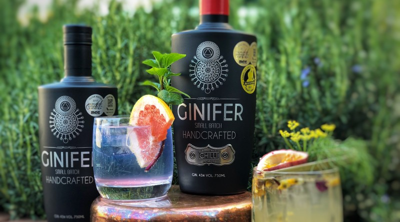The Local Gin Guide: Ginifer Barrel Aged Chilli Infused Gin