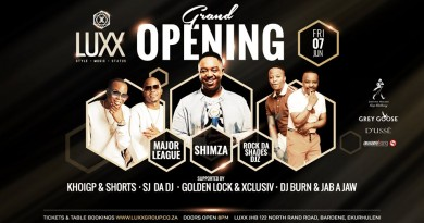 b8eefafd COUNTDOWN TO THE LAUNCH OF THE NEW PREMIUM EKURHULENI VENUE LUXX NIGHTCLUB