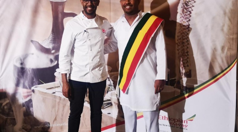 Chef Yohanis and Abel Alemu
